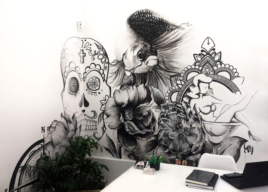 "Mural: ""Tatualia"""